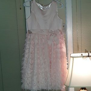NWT American Princess light pink dress with bow